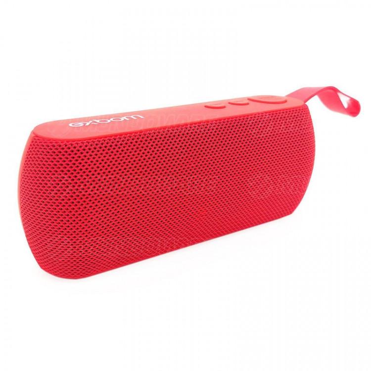 Caixa de Som Bluetooth Portátil 3W com Rádio FM USB Micro SD Auxiliar Microfone Embutido Exbom CS-M2