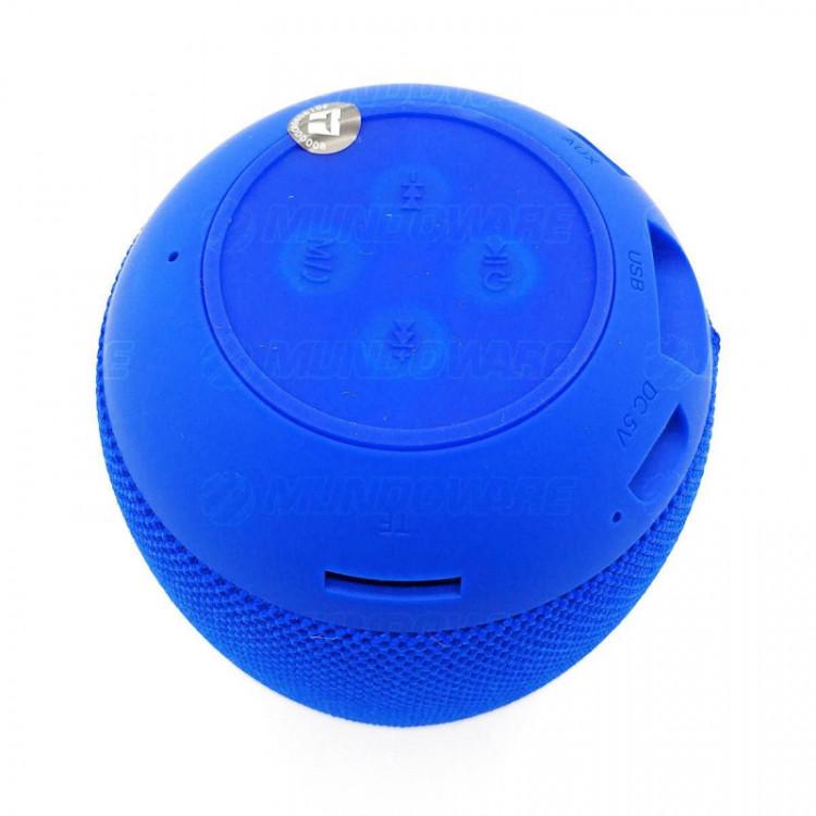 Caixa de Som Portátil Bluetooth 4.2 3W Entrada USB Micro SD Auxiliar P2 Rádio Função Atende Telefone
